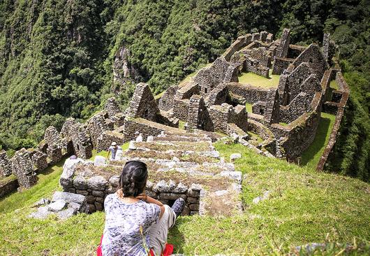 Bilhete turístico de 2 dias na Trilha Inca de KM104 para Machu Picchu
