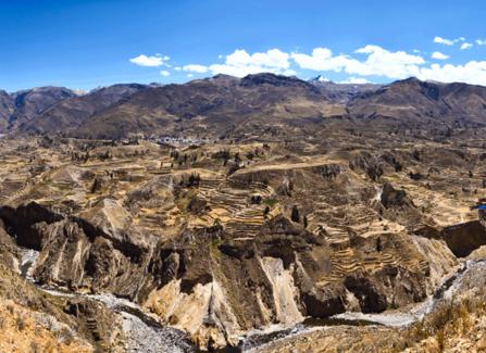 Visite 2D 1N du canyon de Colca au départ d'Arequipa et transfert à Puno.