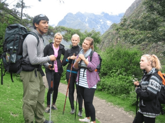 INCA TRAIL Gids van KM104 naar Machu Picchu