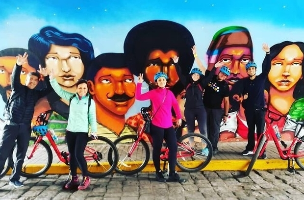Bicycle tour of Lima bay