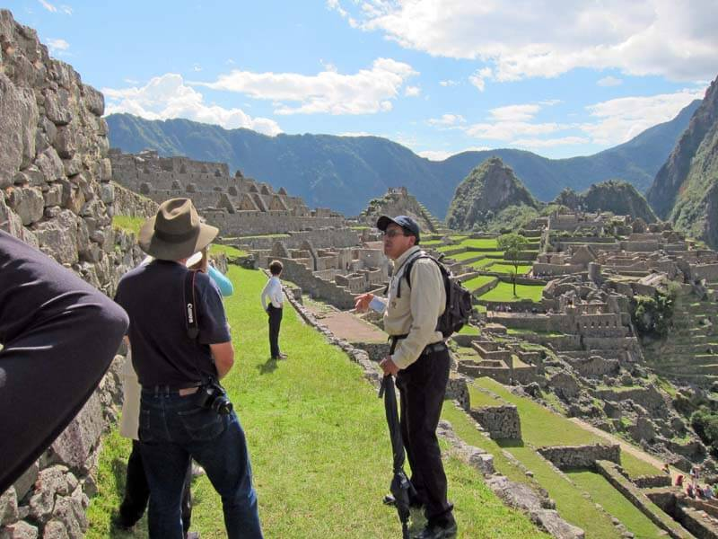 Machu Picchu Citadel Guided Tour 2.5hr