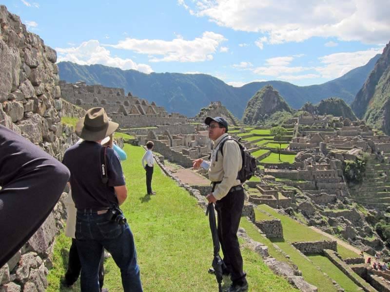 Visita Guiada Citadela Machu Picchu 2.5hr